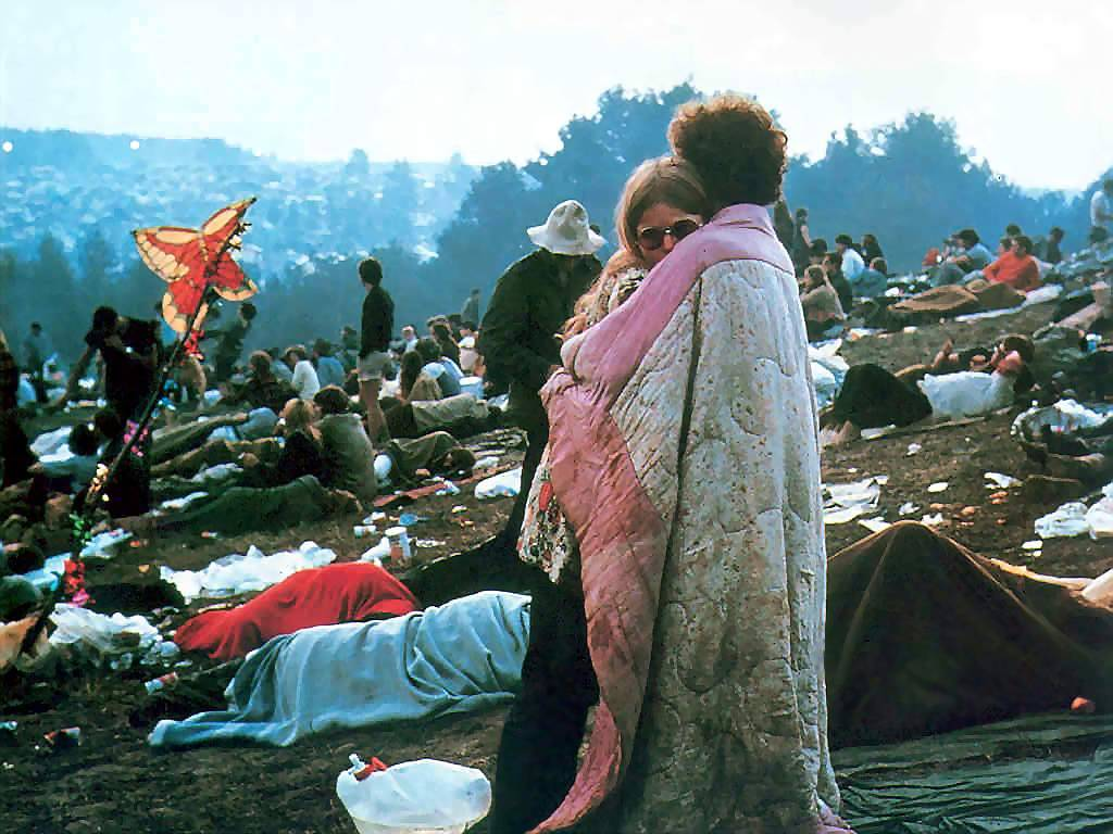 """By the time we got to Woodstock we were half a million strong."" Uploaded by screenhead.com."