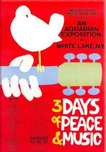 Woodstock poster, uploaded by solarnavigator.net.