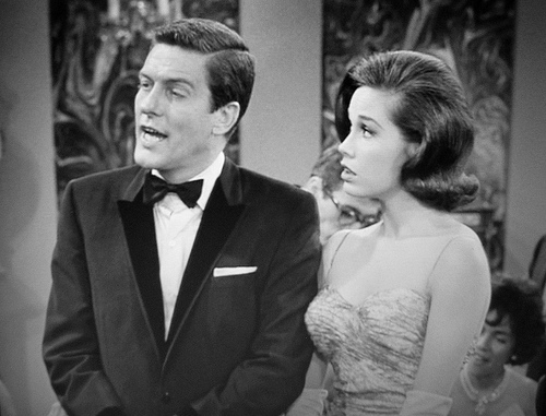 Dick with Mary Tyler Moore. Flickr photo uploaded by stephanieb.