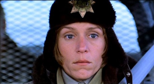 Frances McDormand as Sheriff Marge Gunderson. Uploaded by destgulch.com