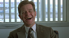 William H. Macy as Jerry Lundegaard. Uploaded on Flickr by hypostylin.