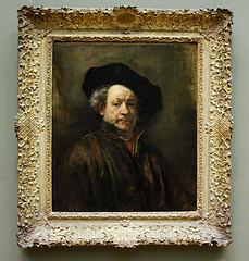 Rembrandt, Self Portrait. Flickr photo, uploaded by jbparker.