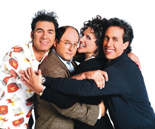 The Seinfeld gang. Uploaded by fxuk.com.