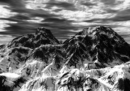 Ansel Adams captures the power of the landscape with startling clarity. Uploaded by strongphotography.wordpress.com.