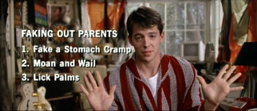 The charmingly deceptive Ferris Bueller. Uploaded by dvdactive.com.