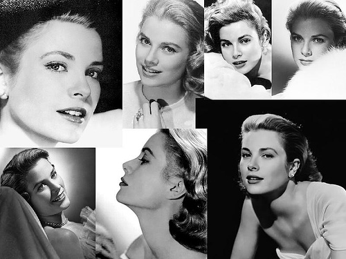 America's royal actress, Grace Kelly. Uploaded to Flickr by FTL Traveler.