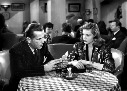 Bogart and Bacall together. Uploaded by doctormacro1.info.