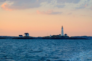 Boston Harbor Light, Boston, Massachusetts. Uploaded to Flickr by mbell1975.