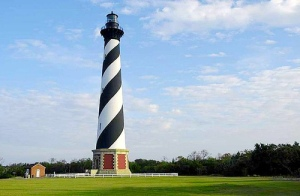 Cape Hatteras Lighthouse, Buxton, North Carolina. Uploaded to Flickr by lebronphoto.
