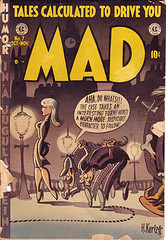 A classic Mad from its comic book days. Uploaded to Flickr by Jasperdo.