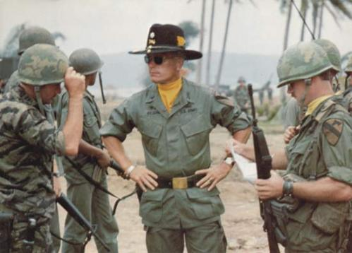 Duvall in the brilliant but haunting Apocalypse Now. Uploaded by web.britannica.com.