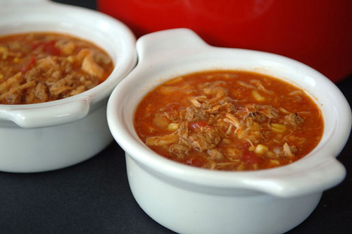It's officially fall - time for Brunswick Stew. Uploaded to Flickr by Evening Edge.com.