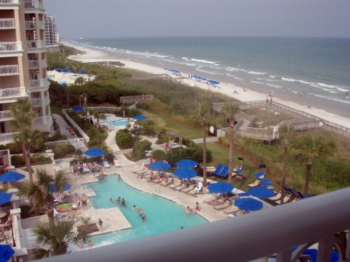 It's called the Grand Strand, and you can see why. Uploaded by threebestbeaches.com.