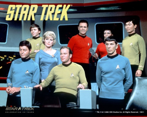 While the cast was good, the concept mattered most in Star Trek. Uploaded by rimworlds.com.