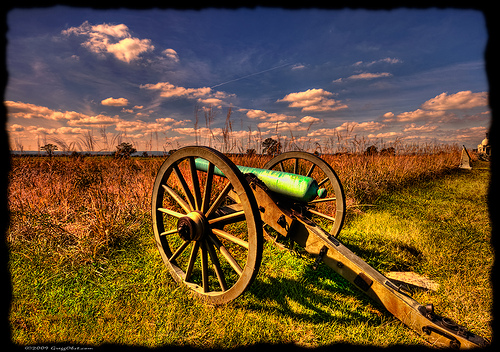 About 50,000 Americans died on the Gettysburg battlefields. Uploaded to Flickr by Gregg Obst.