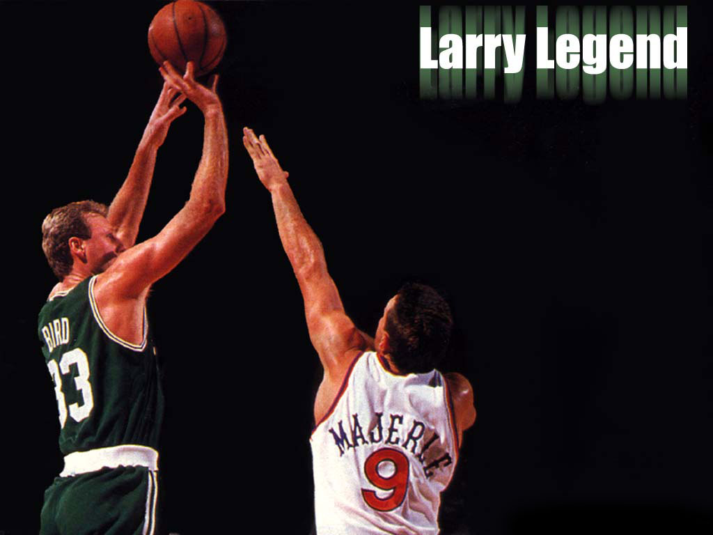 Larry Legend was one of his nicknames. Another was The Hick from French Lick. Uploaded by sitevip.net.