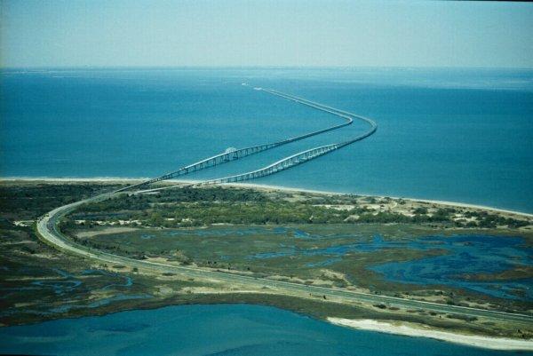 Chesapeake Bay Bridge. The Chesapeake Bay