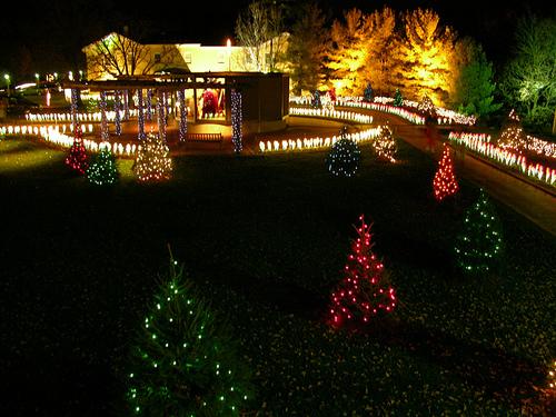 uploaded to flickr by photo bair - Oglebay Park Christmas Lights