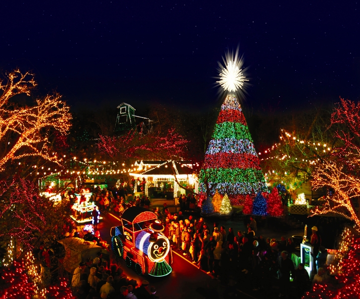 Holiday: Christmas Light Displays - Holiday: Christmas Light Displays Great American Things