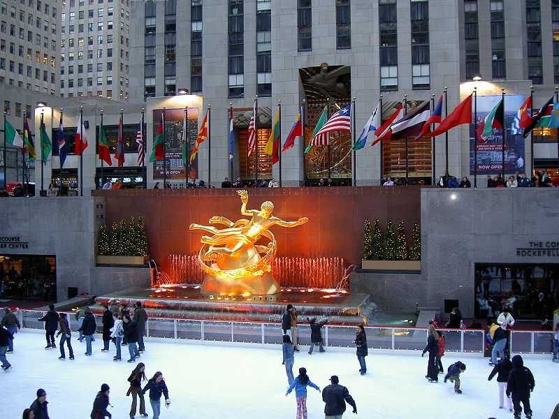 travel rockefeller center great american things