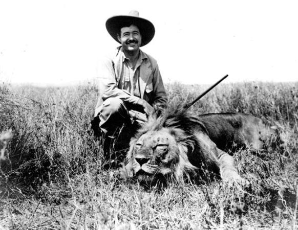 Big Ron Lyons : The only adventure left was death ernest hemingway s