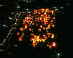 Balloon glow. Uploaded by eagleseyephoto.com.