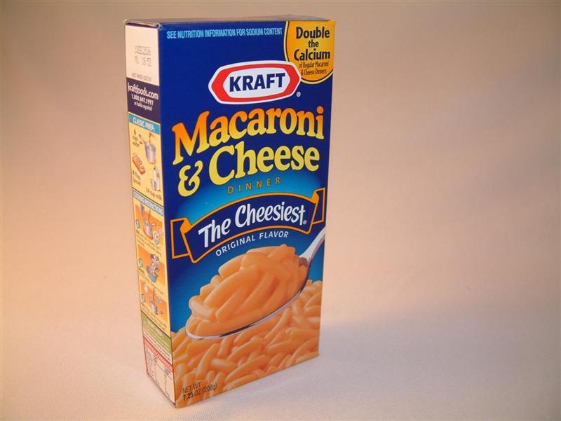 Food kraft macaroni cheese great american things for Cuisine kraft