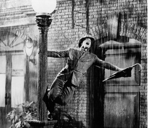 The American Film Institute named Singin' in the Rain the best musical of