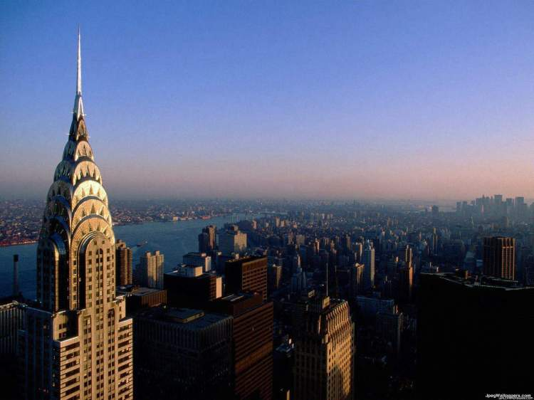 When completed in 1930, the Chrysler Building was the tallest in the world