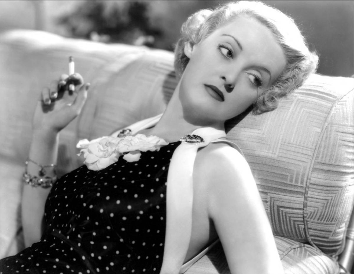Bette Davis still scares me.
